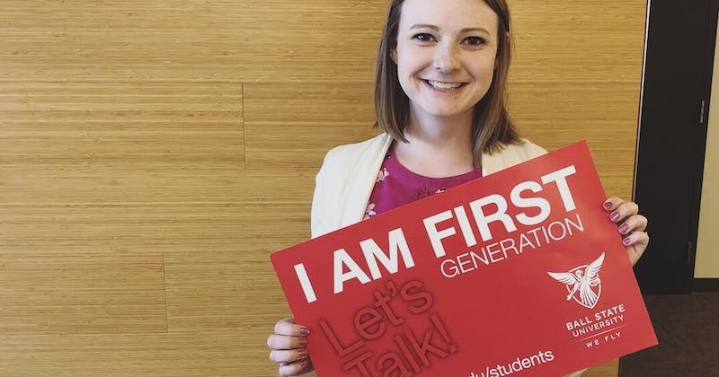 Mylie Brennan, who is about to complete her master's degree in communication, will be traveling to Queen's University Belfast in Northern Ireland in the fall 2020 semester to pursue a doctoral program in global peace, security, and justice. Brennan is one of the Ball State recipients of the Fulbright scholarship and the focus of her doctoral studies will be on political identities of young people in post-conflict Northern Ireland. Mylie Brennan, Photo Provided