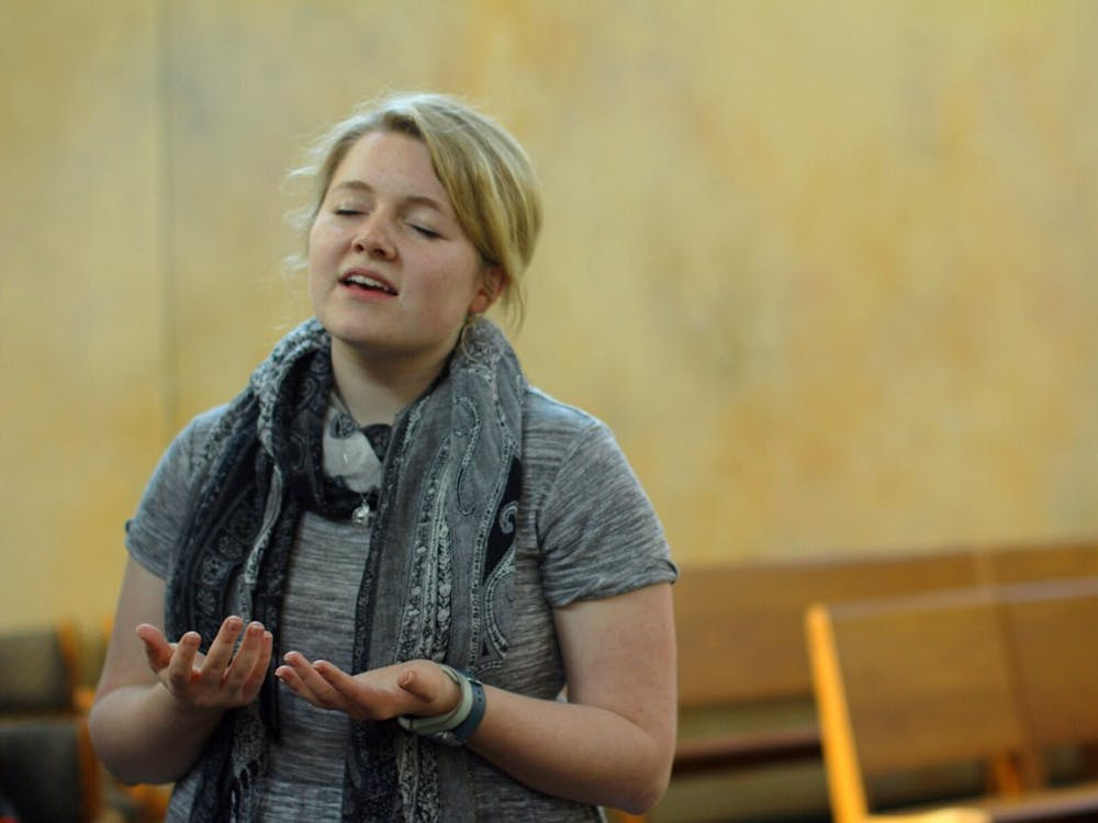 Sophomore student Emily Naville willstart a new life as a Catholic sisterSept. 3.The process of becoming a fully committed religious sister takes about eight years in total.CassidyKnowling // DN