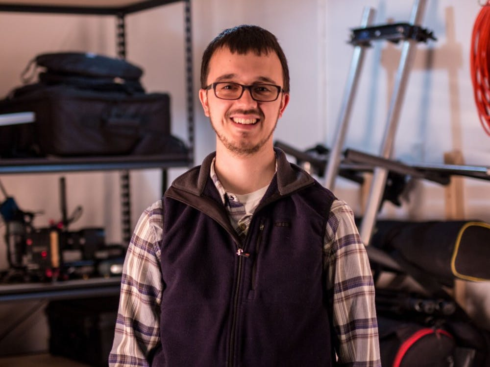 """Alumnus filmmaker Mich Hannon is a visual effects supervisor for Blueline. He is currently working on the upcoming film, """"Ms. White Light."""" Mitch Hannon, Photo Provided"""