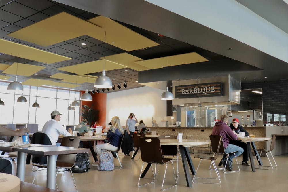 <p>North Dining&#x27;s facility includes down-home barbeque, all-day breakfast and a variety of healthy food options. <strong>Rylan Capper, DN File</strong></p>