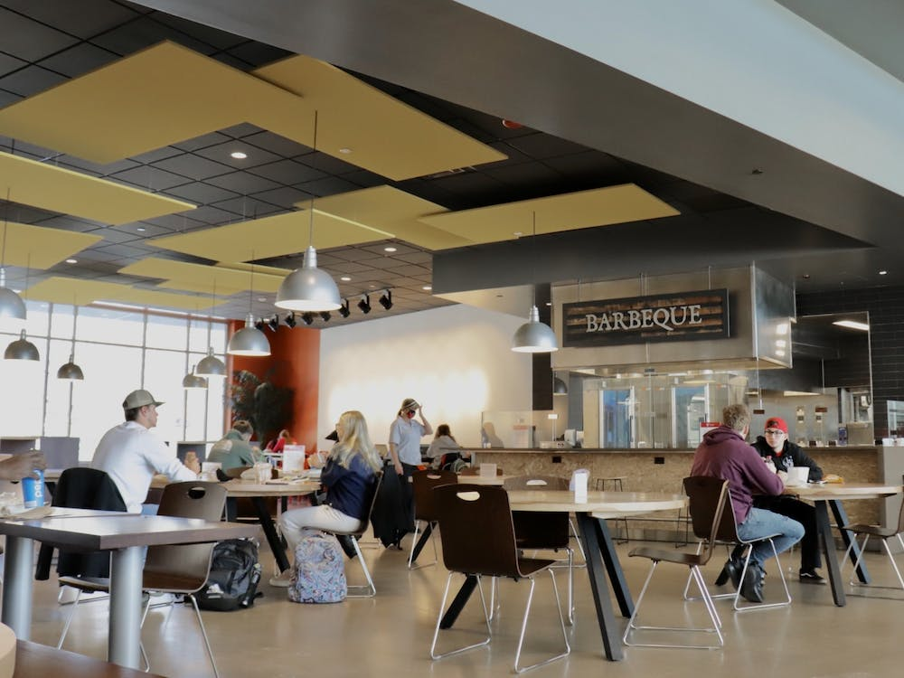 North Dining's facility includes down-home barbeque, all-day breakfast and a variety of healthy food options. Rylan Capper, DN File