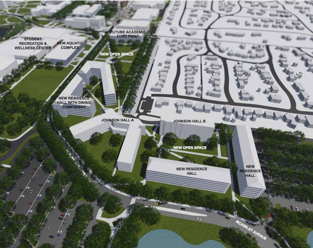 "<p>According to the <a href=""http://cms.bsu.edu/-/media/www/departmentalcontent/stratplan/pdf/campusmasterplan.pdf?la=en"">Campus Master Plan</a>, new&nbsp;residential buildings on the north side of campus&nbsp;will replace LaFollette Complex, with an aim ""to reinforce the sense of community.""&nbsp;The new residence halls on the north side of campus&nbsp;are expected to house 1,100 beds. Ball State University&nbsp;Campus Master Plan //&nbsp;Photo Courtesy&nbsp;</p>"