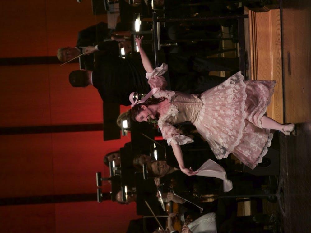 TheMuncie Symphony Orchestra performed on Jan. 30 at John R. Emens Auditorium.