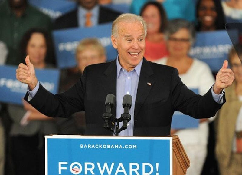 Joe Biden to address sexual assault in Indianapolis