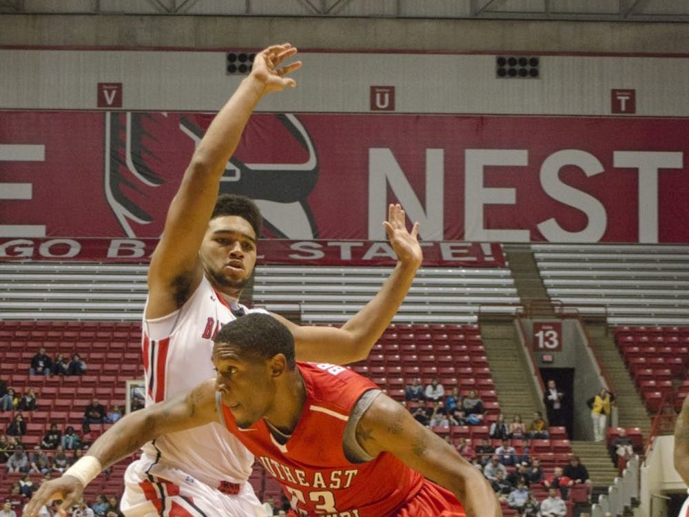 Ball State took on Southeast Missouri on Nov. 18 and won 87-83.