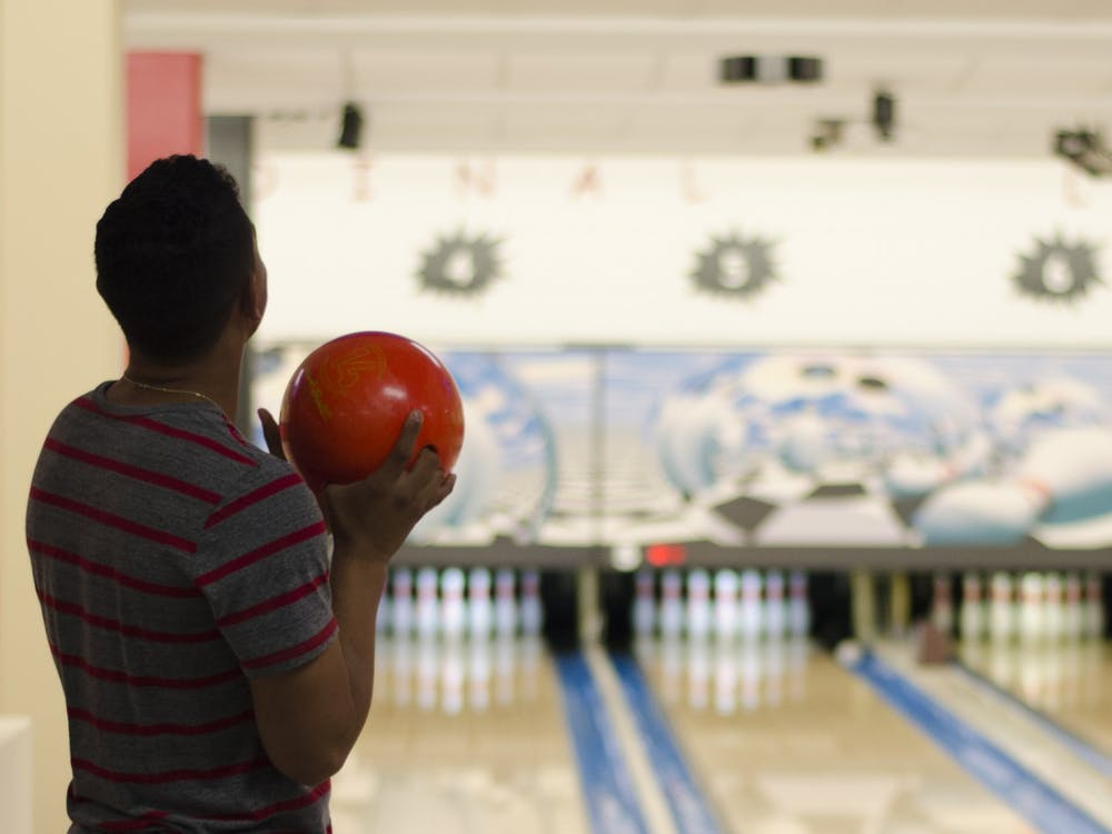 Ball State's Cardinal Lanes bowling center will be operating at 50 percent capacity throughout the fall 2020 semester. Its hours of operation will be limited to allow for appropriate sanitizing and disinfecting. Breanna Daugherty, DN File