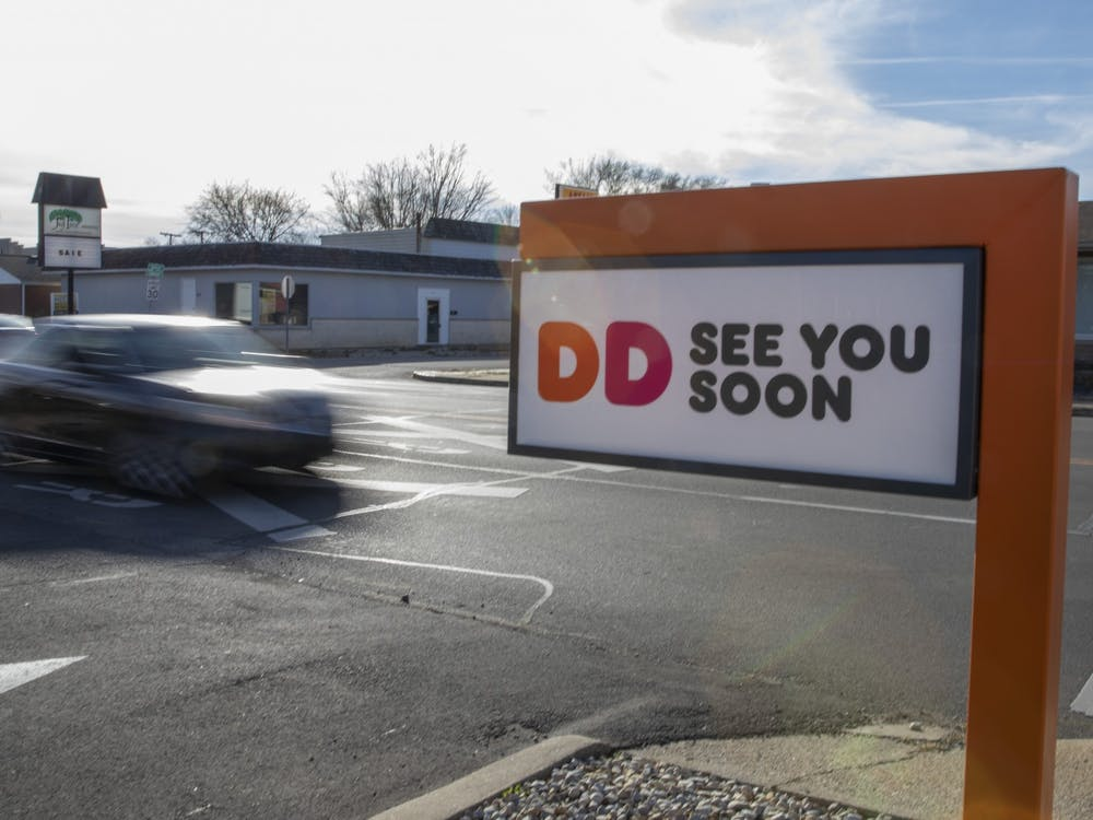 Finally… After almost one year, the Dunkin' Donuts at 418 S. Tillotson Ave. is open for business as of Nov. 23, 2020. Opening day saw lines out of the parking lot and down the street. As a part of the opening day festivities, the new store offered each customer a free medium iced or hot coffee.
