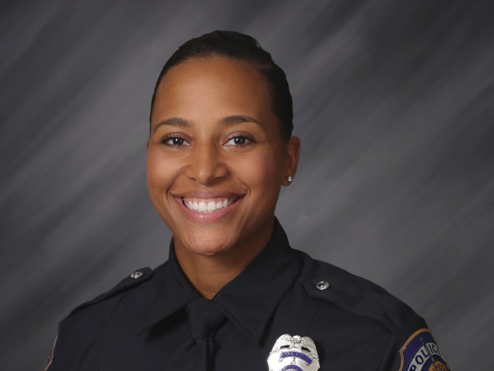 Officer Breann Leath, 24, was shot at an apartment complex on the city's far east side. Leath died at Eskanazi Hospital. Indianapolis Metropolitan Police Department, Photo Courtesy