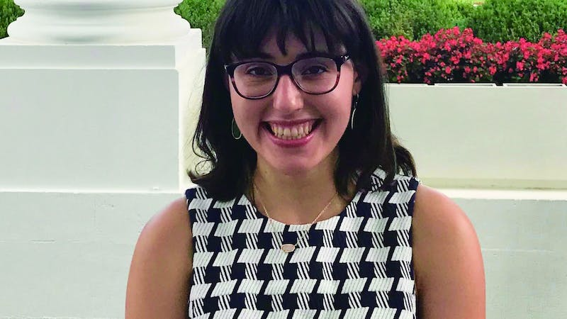 Senior political science major Lydia Kotowski spent her summer in D.C. with an internship through The Fund for American Studies. There, Kotowski researched and designed social media campaigns for the Washington Council of Lawyers. Lydia Kotowski, Photo Provided