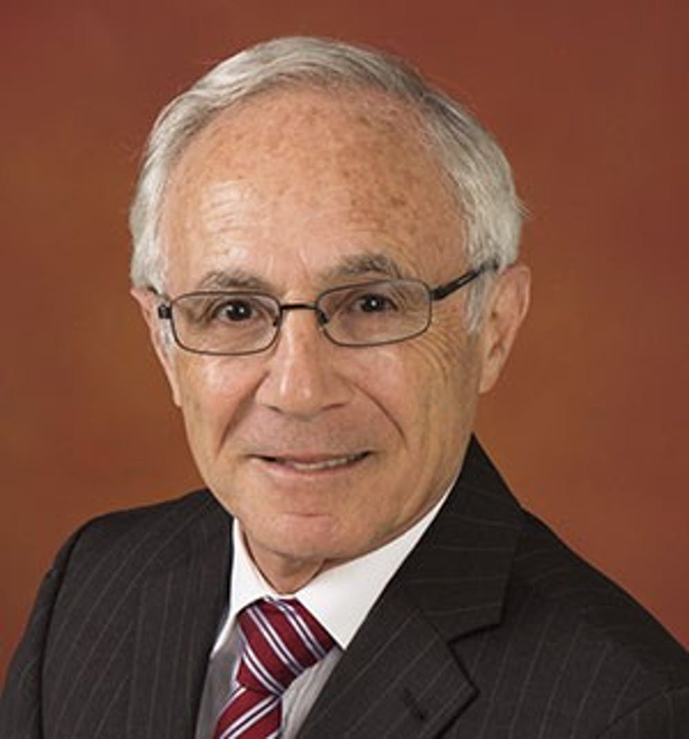 <p>Shaheen Borna, professor of marketing, has been teaching at Ball State since 1987. <strong>Ball State University, Photo Courtesy</strong></p>