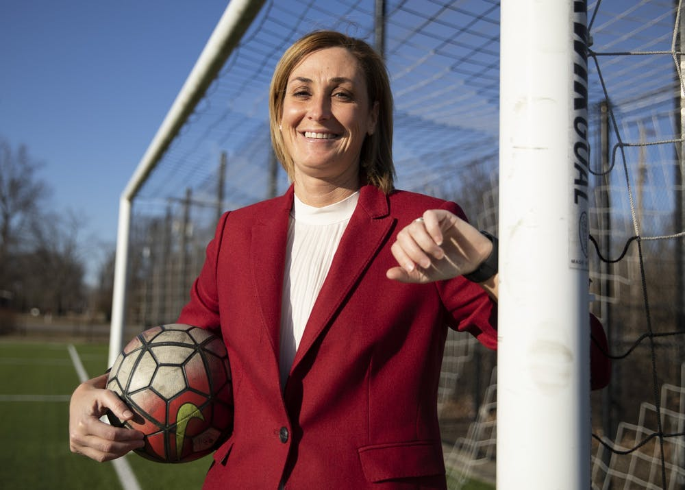 <p>Growing up the oldest of four in a suburb of St. Louis, Beth Goetz, Ball State athletic director, was surrounded by sports. Up until her senior year of high school, Goetz played softball, basketball and soccer. Most of the colleges Goetz visited for soccer had first-year programs because, at the time, collegiate women's soccer programs were still being established. After graduating high school, she was recruited to play soccer at Brevard College and later transferred to Clemson.<br/><br/>After graduating in 1996, Goetz began coaching at Missouri-St. Louis, her hometown school. She went on to become an associate athletic director at Butler before becoming the deputy athletic director at the University of Minnesota. Her last stop before Ball State was the University of Connecticut, where she was chief operating officer. Everywhere she's worked, Goetz said, she has tried to be a mentor to the women around her.</p>