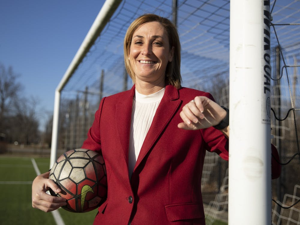 Growing up the oldest of four in a suburb of St. Louis, Beth Goetz, Ball State athletic director, was surrounded by sports. Up until her senior year of high school, Goetz played softball, basketball and soccer. Most of the colleges Goetz visited for soccer had first-year programs because, at the time, collegiate women's soccer programs were still being established. After graduating high school, she was recruited to play soccer at Brevard College and later transferred to Clemson.After graduating in 1996, Goetz began coaching at Missouri-St. Louis, her hometown school. She went on to become an associate athletic director at Butler before becoming the deputy athletic director at the University of Minnesota. Her last stop before Ball State was the University of Connecticut, where she was chief operating officer. Everywhere she's worked, Goetz said, she has tried to be a mentor to the women around her.