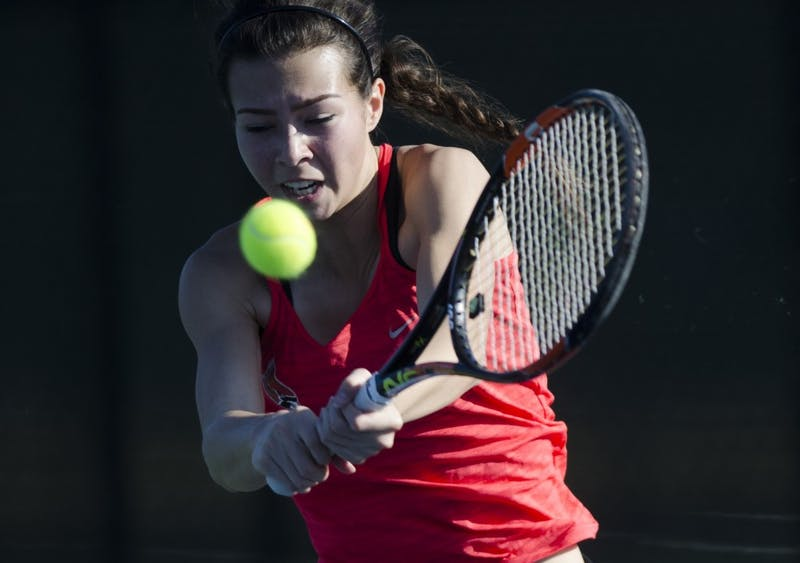 Ball State Women's Tennis can't catch Akron in senior day loss