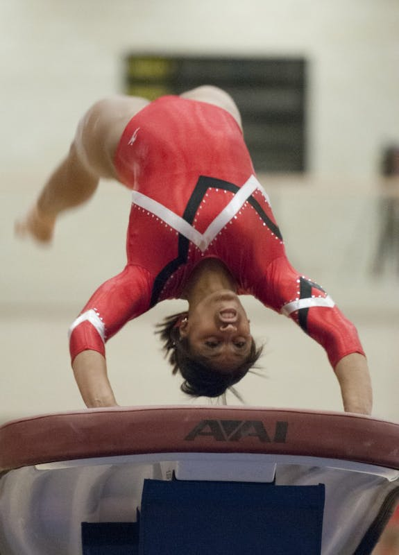 GYMNASTICS: Ball State loses to Bowling Green, 193.025-194.15