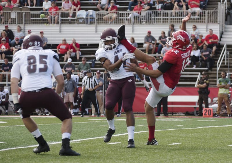 Kyle Schmidt embraces role as Ball State punter
