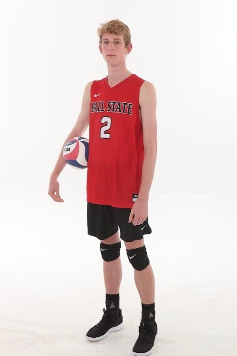 Ball State Men's Volleyball's Kaleb Jenness represents South Carolina on division I stage