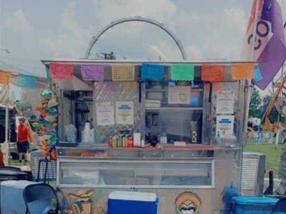 The Tacos Molonco truck sits parked at the Delaware County 4-H Fair in July 2021. The truck opened in June 2021 and travels around Muncie. Christina Guzman, Photo Provided