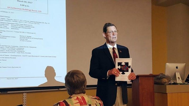 University Senate discusses affordable textbooks, Cooper renovations
