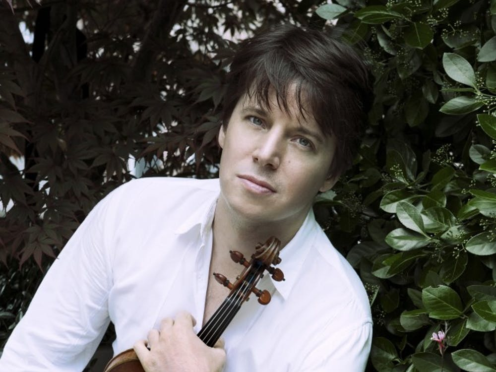 """Violinist Joshua Bell will be playing a show at John R. Emens Auditorium Feb. 17 at 7:30 p.m. Bell has been named an """"Indiana Living Legend"""" and has been awarded the Indiana Governor's Arts Award. PHOTO PROVIDED BY LISA MAZZUCCO"""