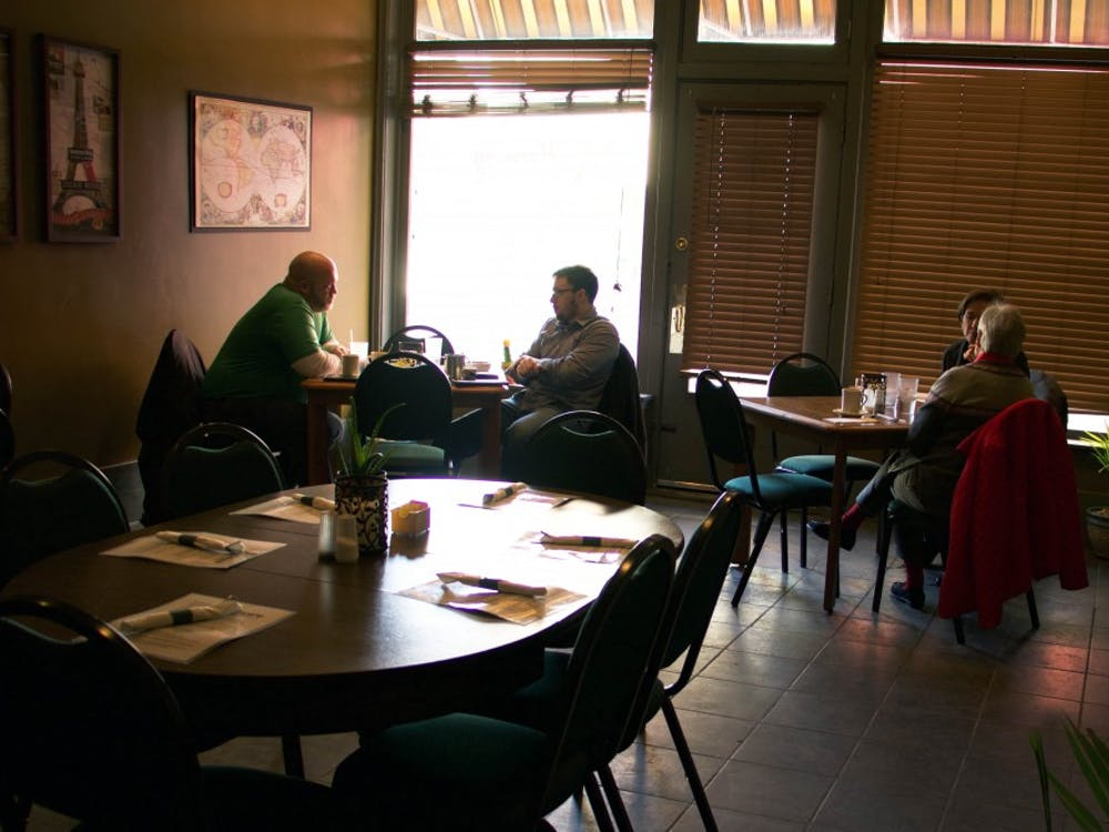 Harmony Café has become a popular place to eat in downtown Muncie, Indiana Jan. 18, 2018 (NEWS 397/Mara Semon).