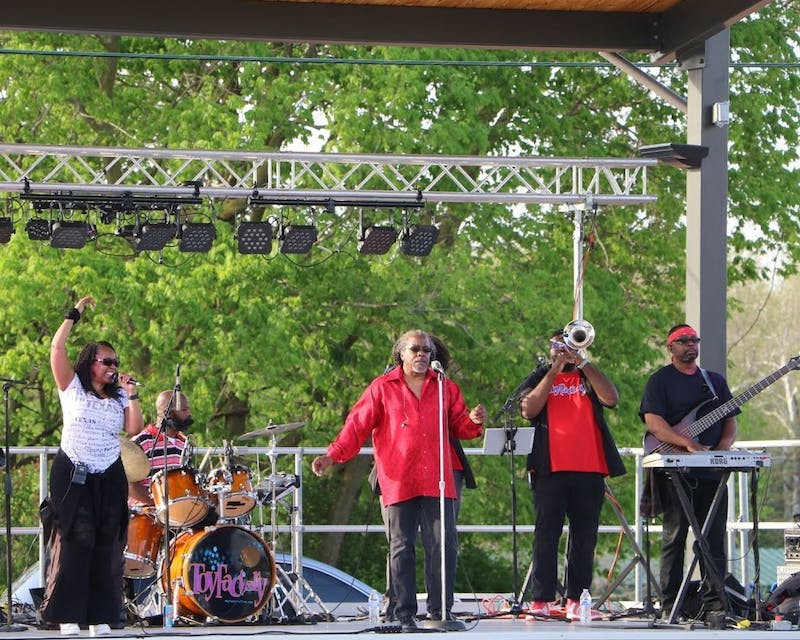 Toy Factory band Concert on the Green