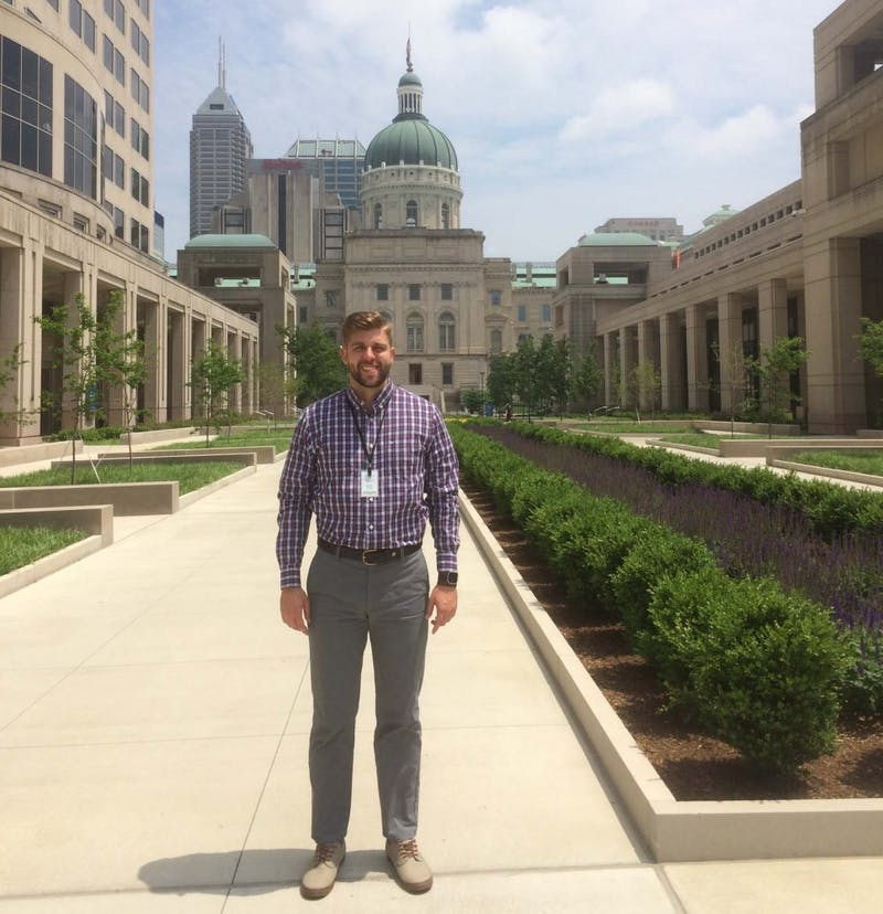 Ball State 2018 gradute Connor McCoy works with Indiana's Department of Transportation to help clean, analyse and report found artifacts. McCoy said he hopes to go into an archaelogical field like INDOT in the future. Connor McCoy, photo provided.