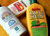 Sunscreen comes in many forms, including within makeup and face wash. Even though most do not associate sunburn with winter weather, UV can still reflect off snow and ice. Photo Provided, Charles Fox