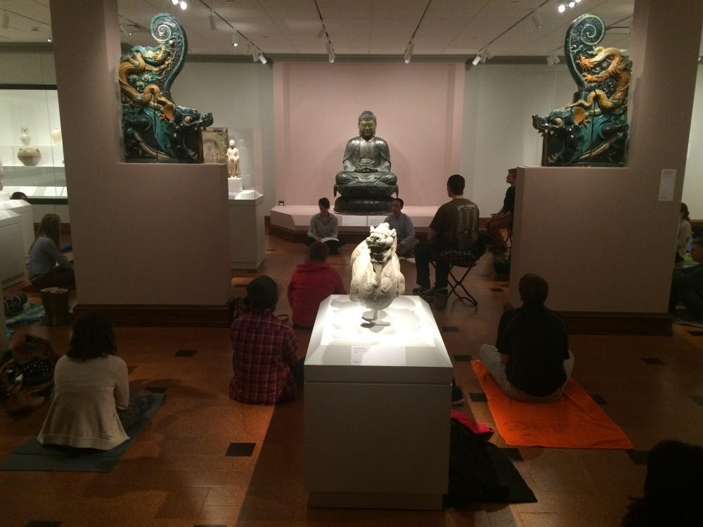 David Owsley's Museum of Art's Meditation series that normally takes place at 3:30p.m. on Fridays will be expanding to the Joe and Alice Rinard Orchid Greenhouse and the Charles W. Brown Planetarium. No previous meditation experience is required. Emma Roggers, DN File
