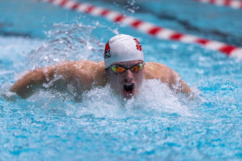 Swimming and Diving vs Eastern Michigan and Wabash