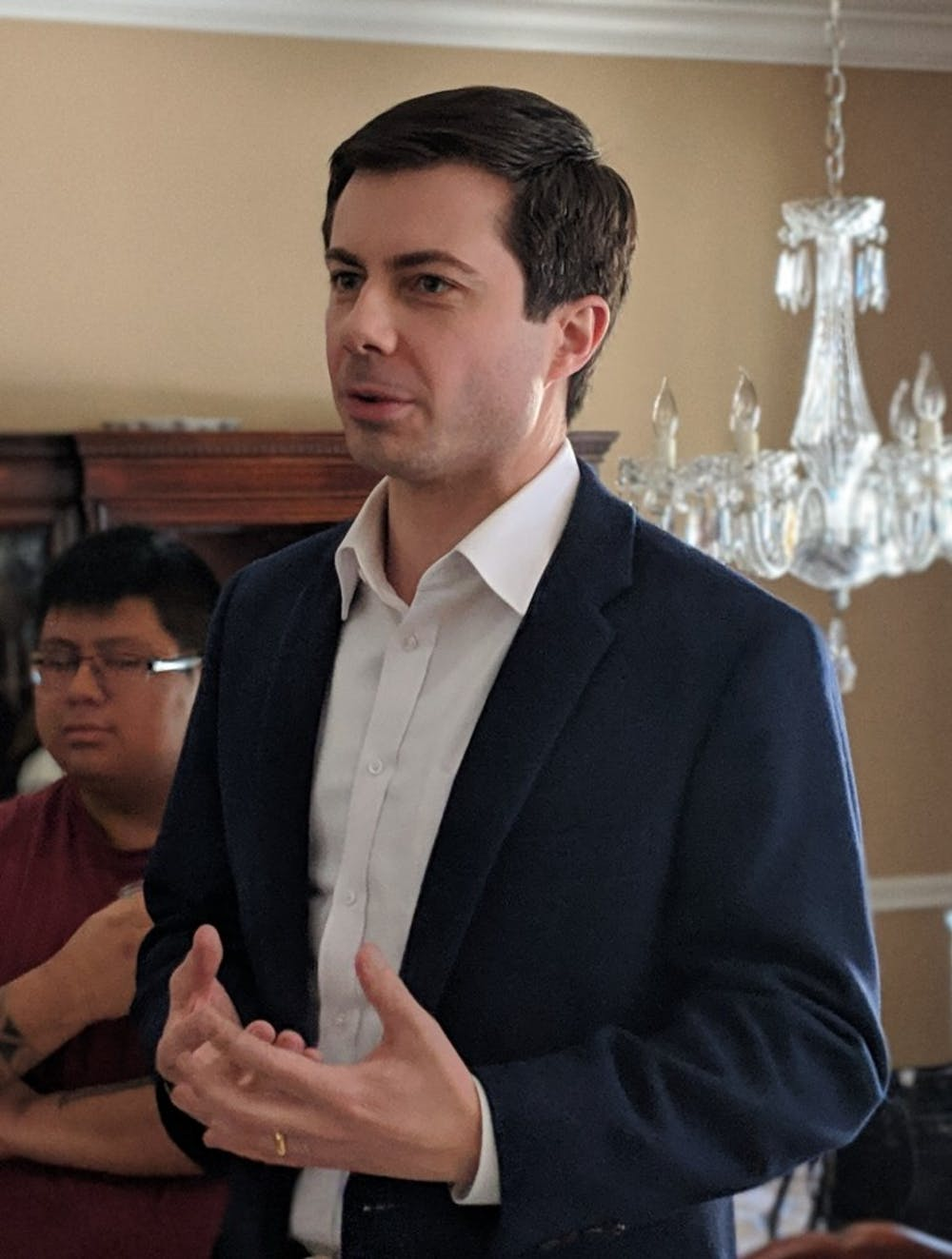"Pete Buttigieg, mayor of South Bend, Indiana, is one of the candidates who has announced an exploratory committee for the 2020 Democratic presidential primaries. ""It's possible. It's improbable,"" said Chad Kinsella, assistant professor of political science, about Buttigieg's chances of winning the nomination. Wikimedia Commons, Photo Courtesy"
