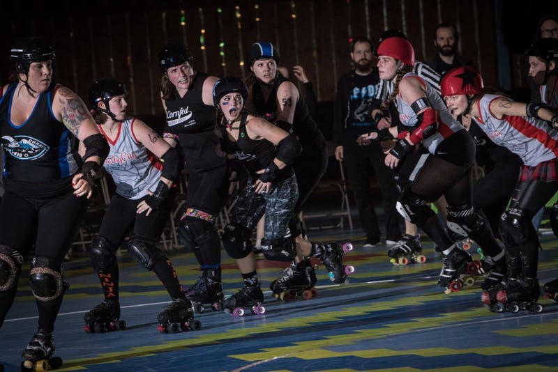 Roller derby not just for the movies, Cornfed Derby Dames hosts skater clinic