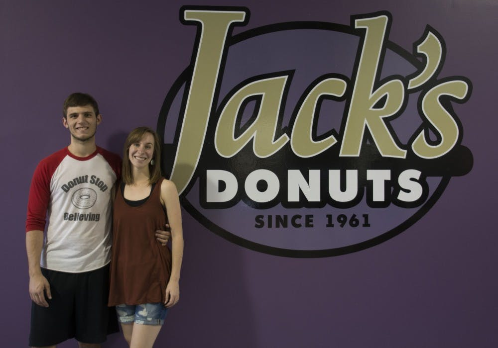 """<p>Jack's Donuts will have its soft opening on June 3, National Donut Day, and its grand opening on June 4 at 2900 W White River Blvd.&nbsp;<i style=""""background-color: initial;"""">DN PHOTO SAMANTHA BRAMMER</i></p>"""