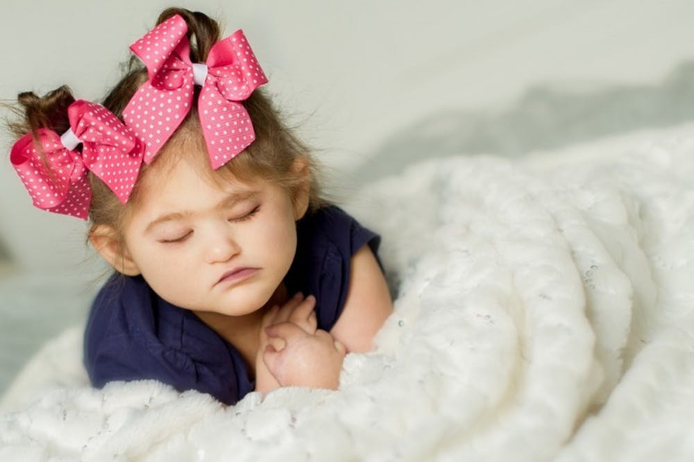 <p>A Ball State professor and his wife knew their second daughter was going to be born with medical complications. Kevin Gatzlaff and his wife Rachael Alaniz's daughter, Aria, was born with a genetic disease called Fanconi anemia.<em>&nbsp;</em><em>PHOTO PROVIDED BY KEVIN&nbsp;GATZLAFF</em></p>