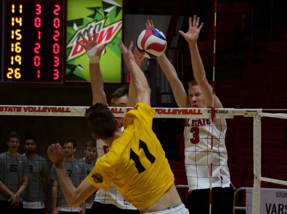 No. 15 Ball State Men's Volleyball looks to focus on mentality against Loyola-Chicago, Lewis