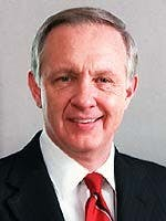 John Worthen served as the 11th president of Ball State. During his tenure, on-campus enrollment grew to nearly 20,000. Ball State University, Photo Provided.
