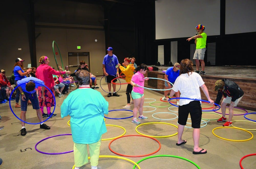 Ball State students help individuals with special needs during summer camp