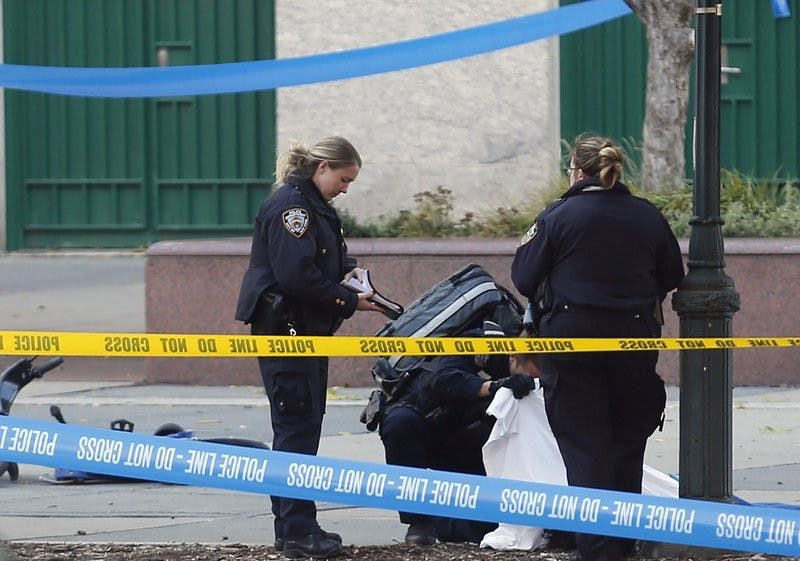 6 dead, others hurt after motorist drives onto NY bike path
