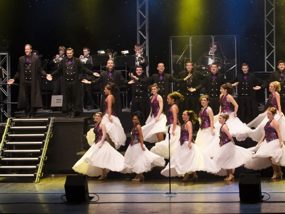 TheBall State University Singers performed in the 50th Annual Spectacular on April 12 at John R. Emens Auditorium.
