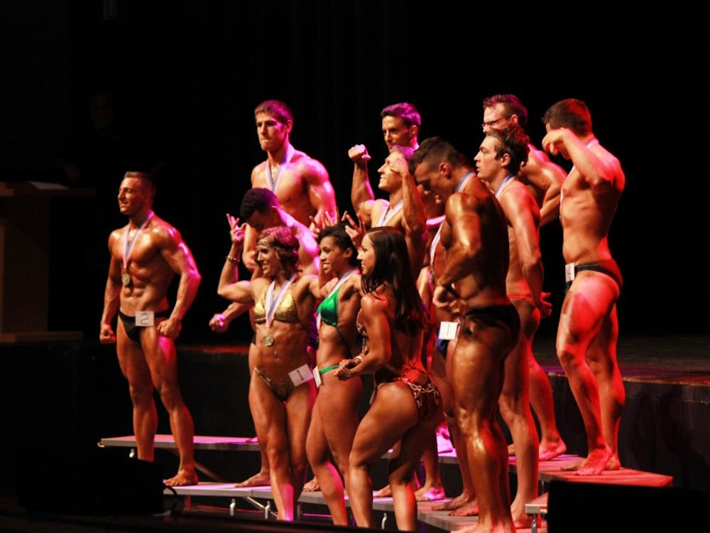 Ball State's annual bodybuilding competition took place on April 14 at John R. Emens Auditorium.