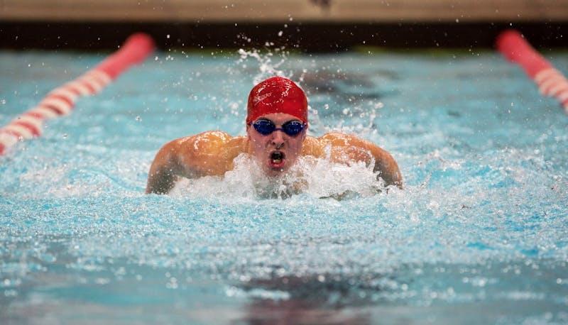 Ball State sophomore walk-on Adam Pongracz grew up around the pool