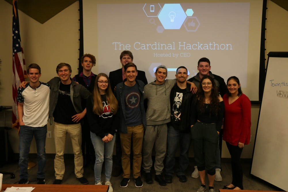 Cardinal Hackathon participants to solve problems using business and technology