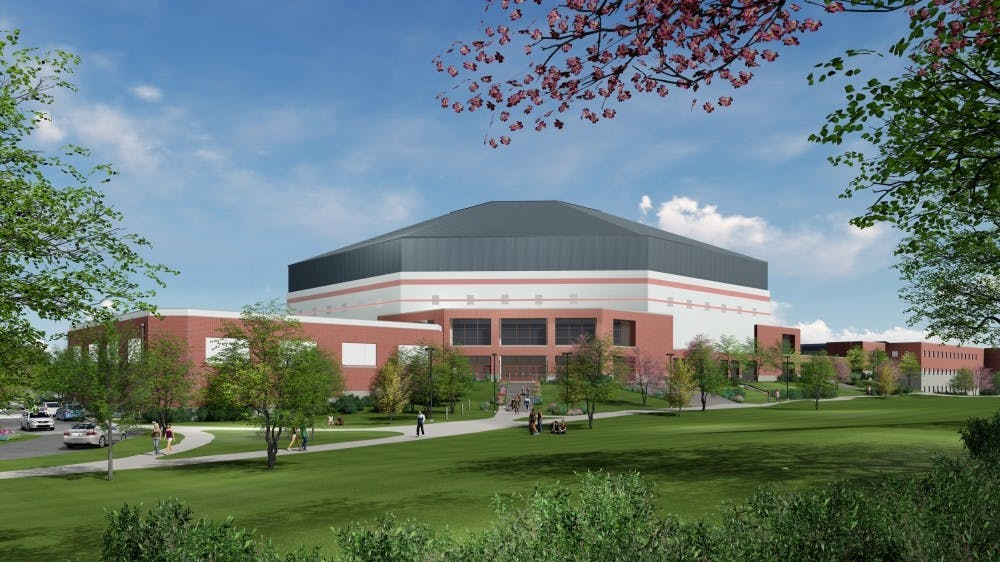 """<p>Ball State broke ground on the Dr. Don Shondell Practice Center Friday afternoon.&nbsp;<em style=""""background-color: initial;"""">Joan Todd // Rendering Provided</em></p>"""