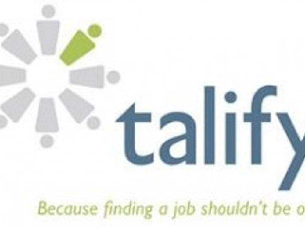 Talify,a new website that is free to Ball State students,helps students put their education to work. It was built to connect people with different areas of strengths and backgrounds to various jobs, internships and volunteer opportunities. talify.com // Photo Courtesy