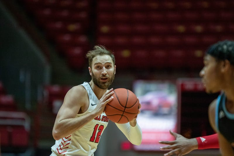 Ball State Men's Basketball win against UIC