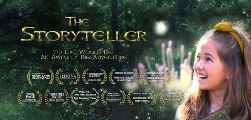 Heartland Film Festival: 'The Storyteller' – a 'Peter Pan' inspired story of finding family