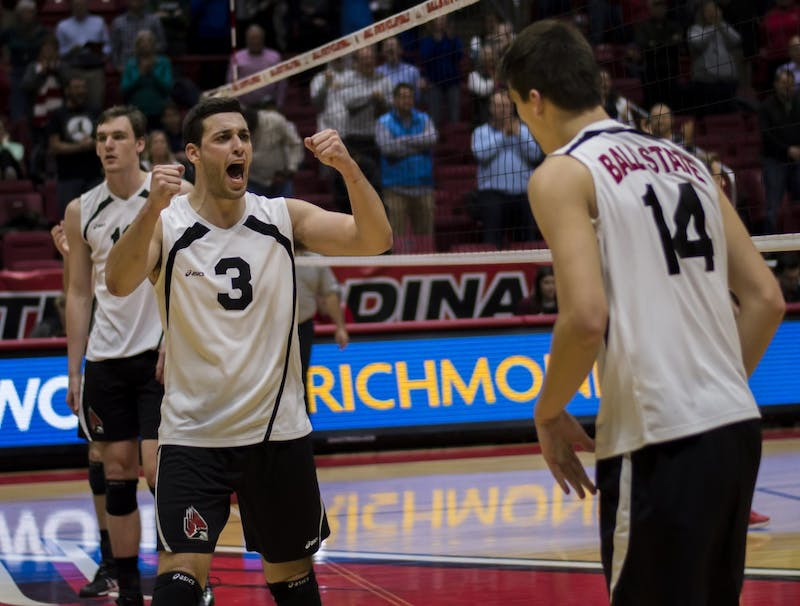 PREVIEW: No. 13 Ball State men's volleyball vs. No. 7 Lewis and No. 10 Loyola-Chicago