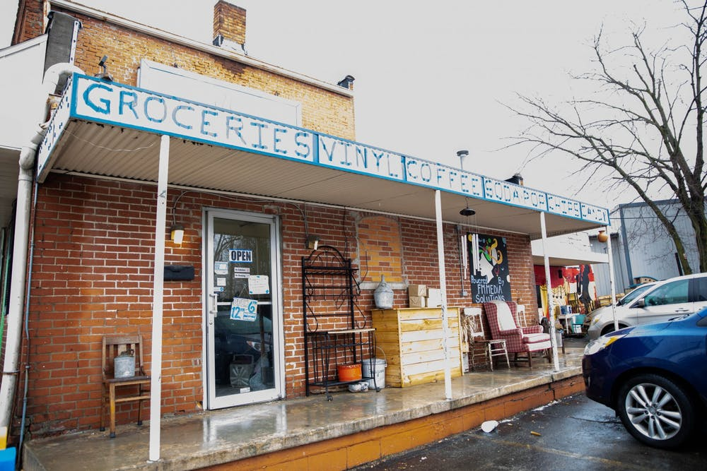 <p>The Common Market store is located at 900 W 8th St Jan. 26, 2021, in Muncie. The Common Market will use the $15,000 to build a kitchen and install touchless checkout counters, as well as paint the outside of the building. <strong>Jaden Whiteman, DN</strong></p>