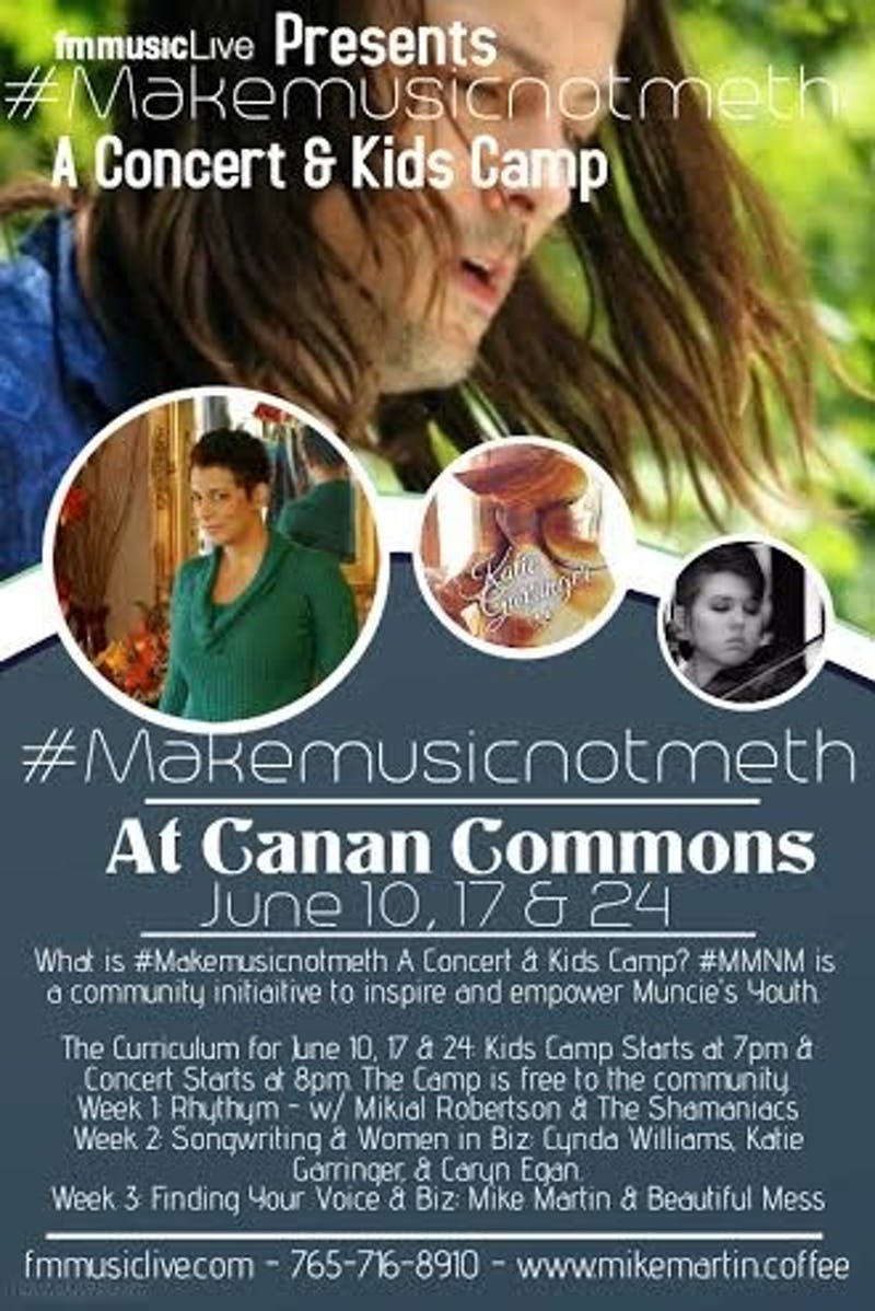 'Make Music Not Meth' initiative to bring change to community