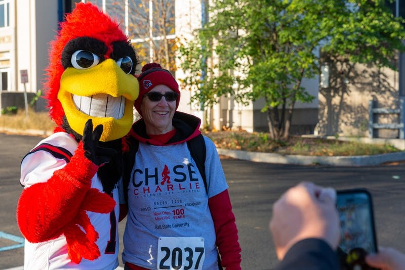 Ball State's Homecoming Chasing Charlie 5K 2018