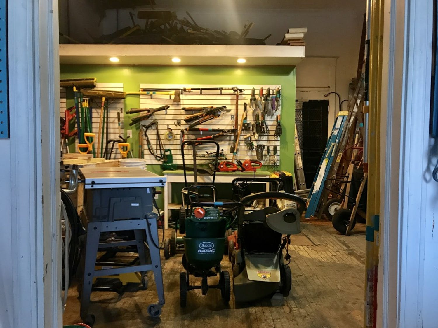The tool library offers 2,500 different tools on loan for members, who can pay as low as $20 per year to be a member. From hammer drills to paint brushes, the tool library offers home, plumbing and gardens, as well.